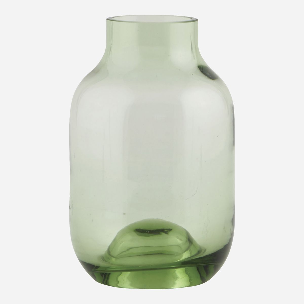 Shaped Vase, Green