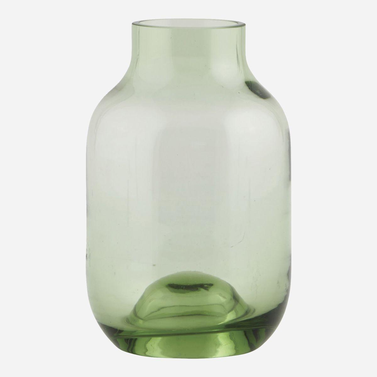 Shaped Vase, Green