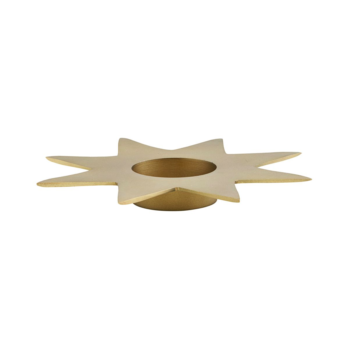 Star Candle Stand, Gold