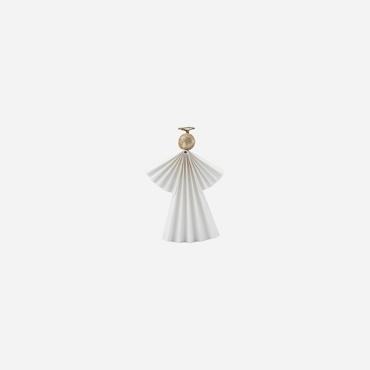 Angel Ornament, White, Small