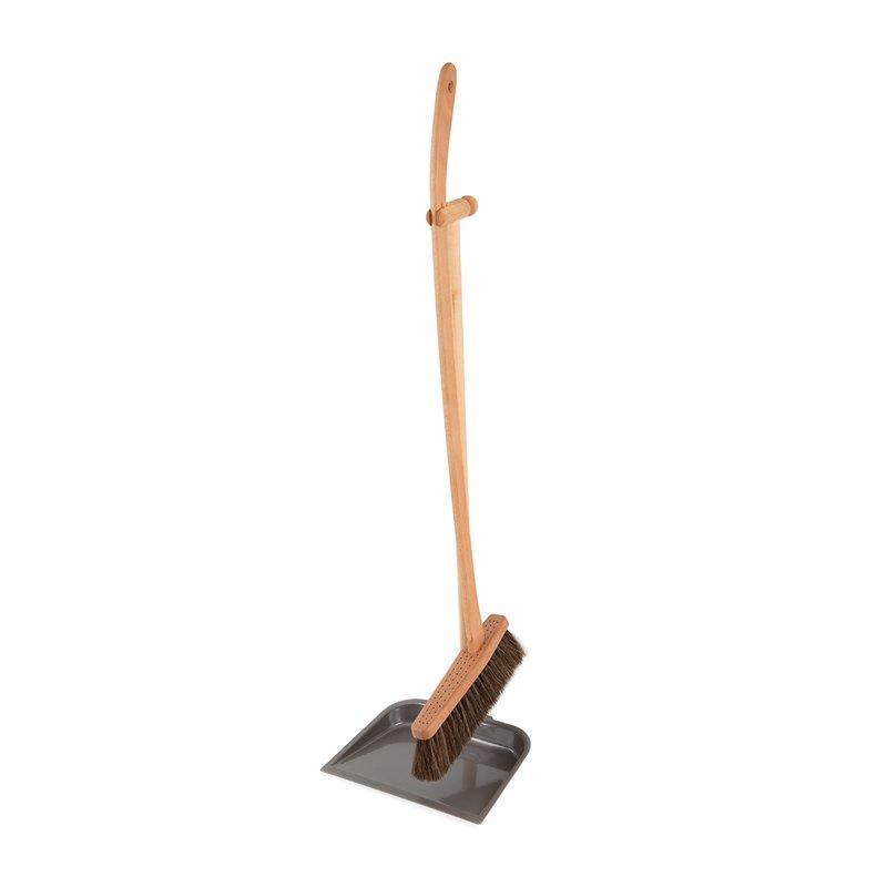 Tall Dustpan & Brush Set, Iris Hantverk