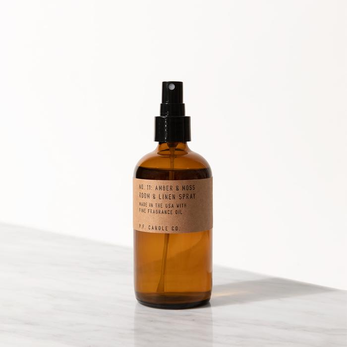 Amber & Moss Room Spray, P.F Candle Co