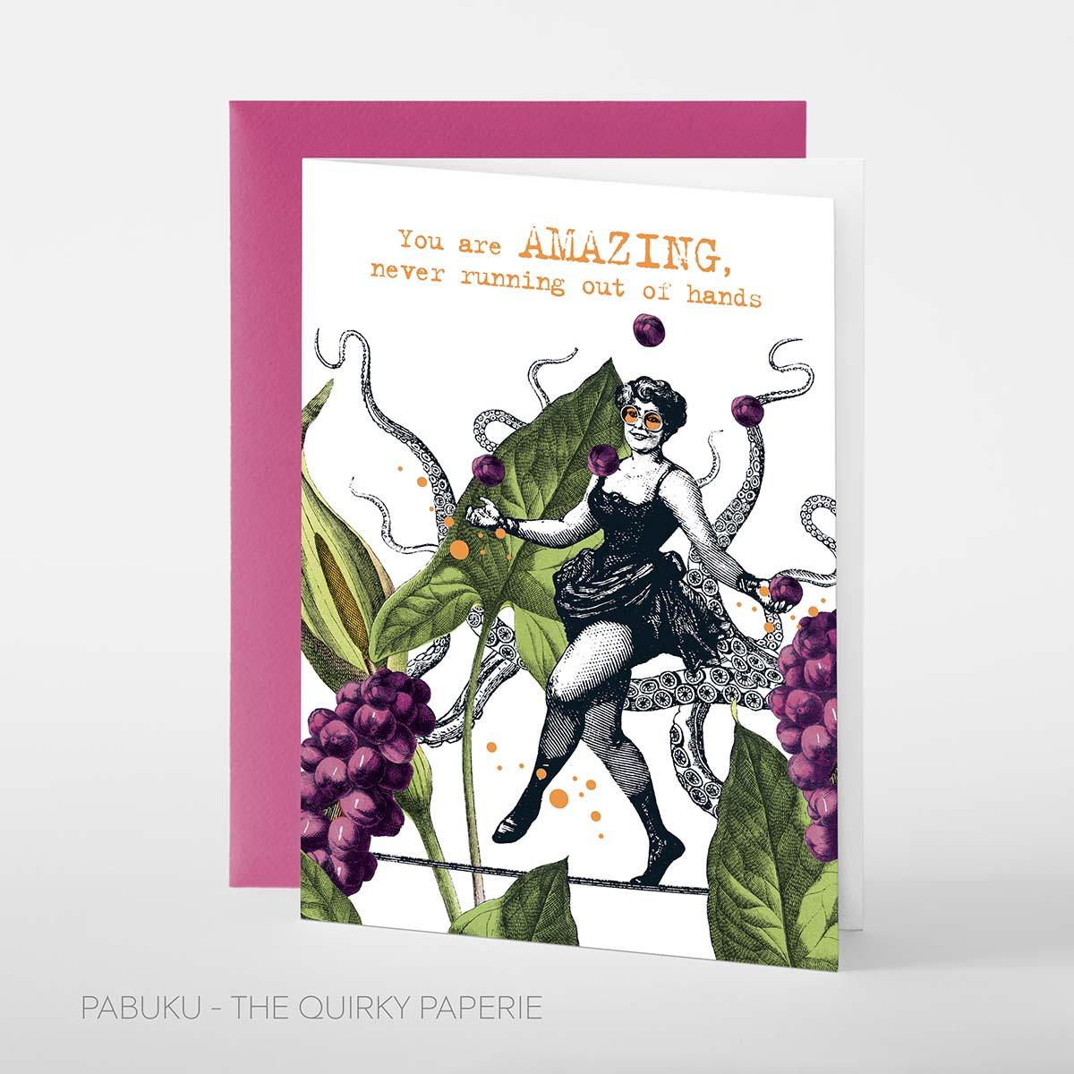 You are Amazing Card, Pabuku