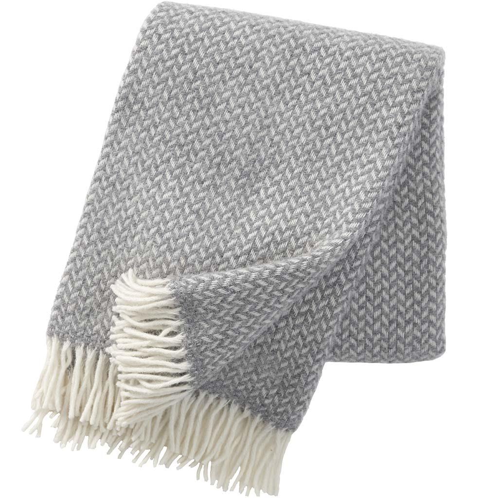 Grey Polka Blanket, Klippan