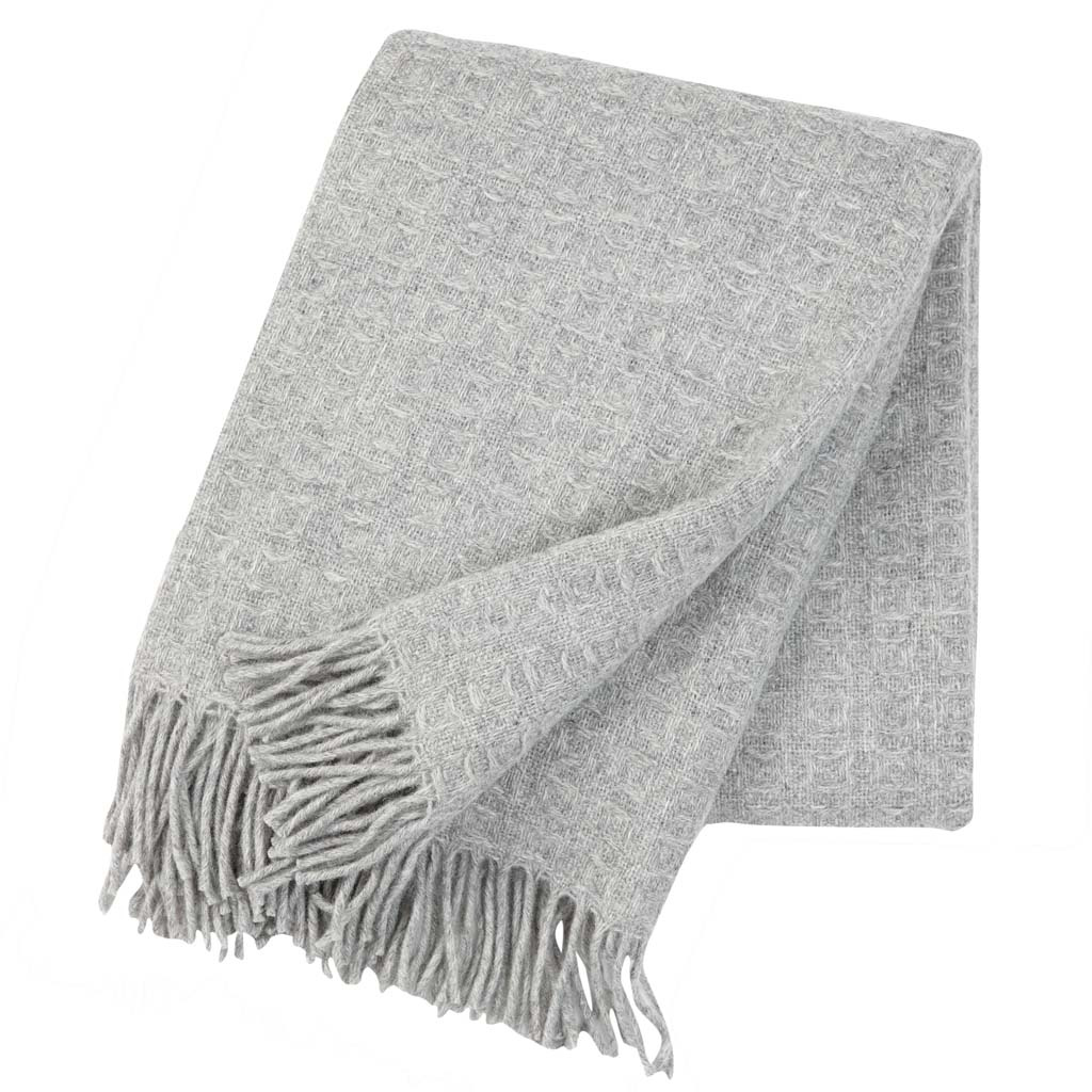 Grey Twist Blanket, Klippan
