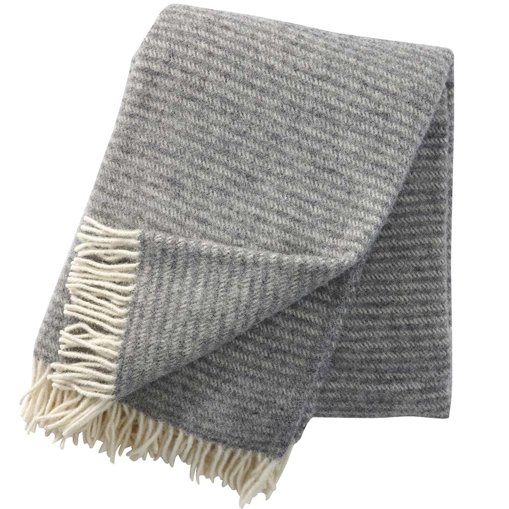 Light Grey Ralph Blanket, Klippan
