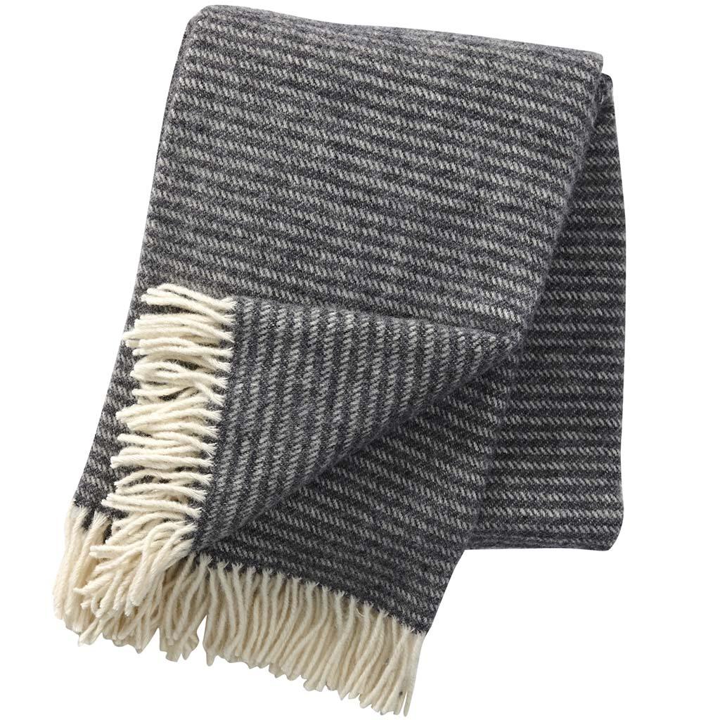 Dark Grey Ralph Blanket, Klippan