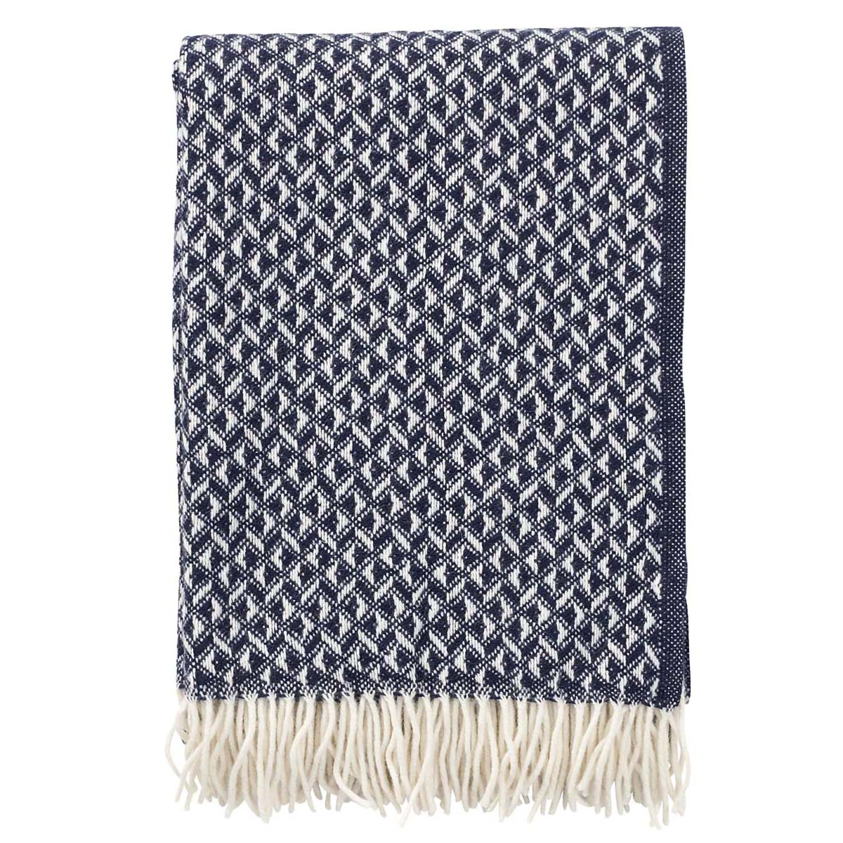 Dark Blue Anna Blanket, Klippan