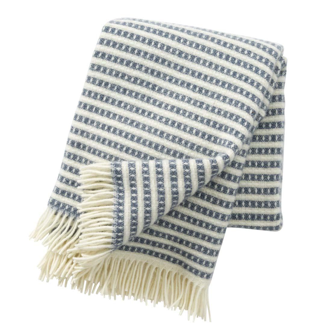 Smokey Blue Olle Blanket, Klippan