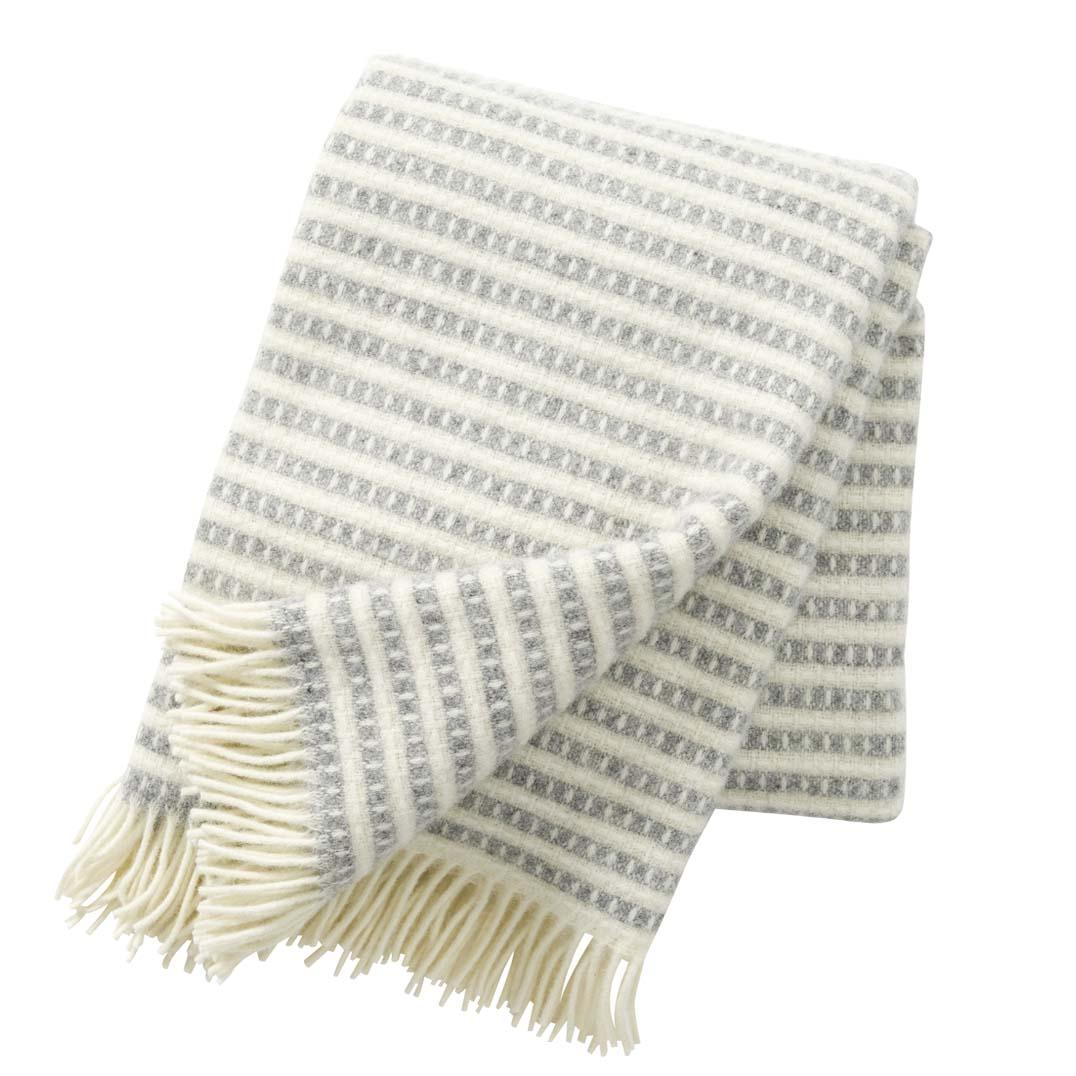 Light Grey Olle Blanket, Klippan