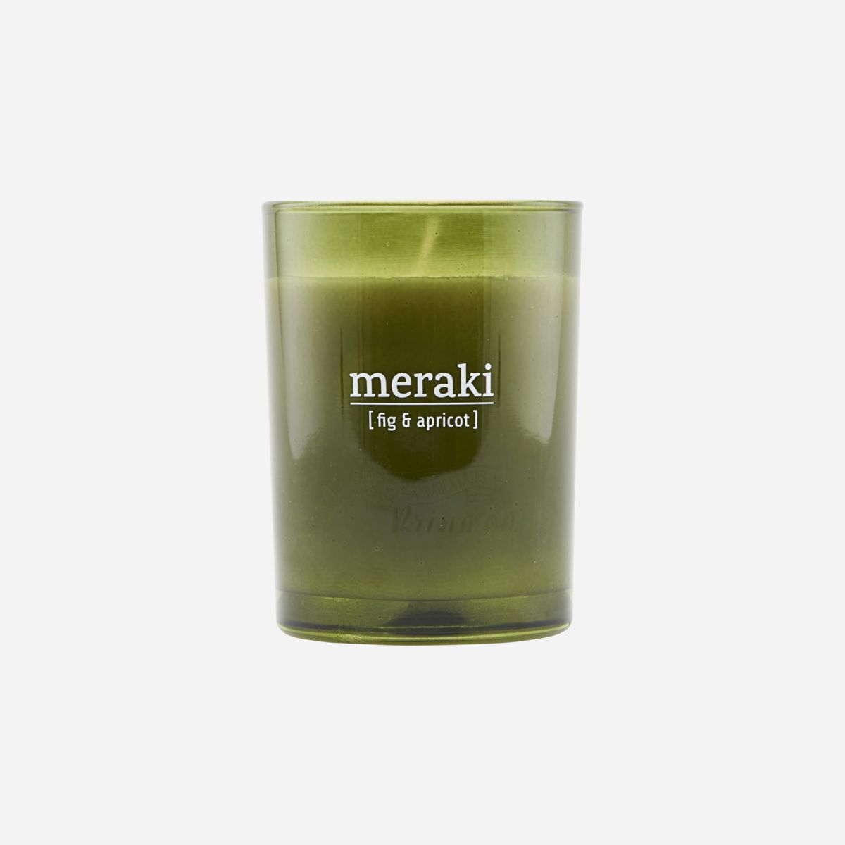 Fig & Apricot Scented Candle