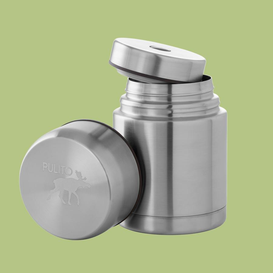 Pulito's Thermo Stor in stainless steel