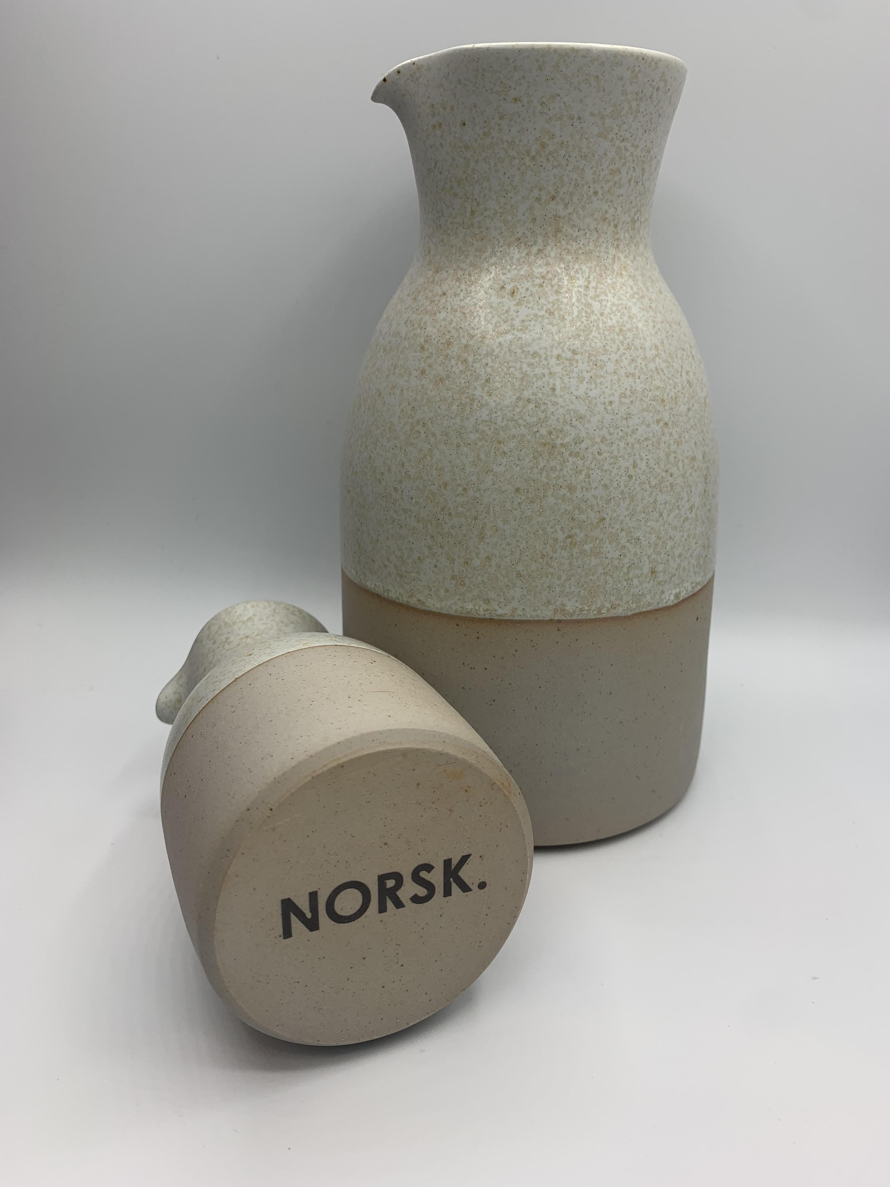 ceramic medium sized carafe