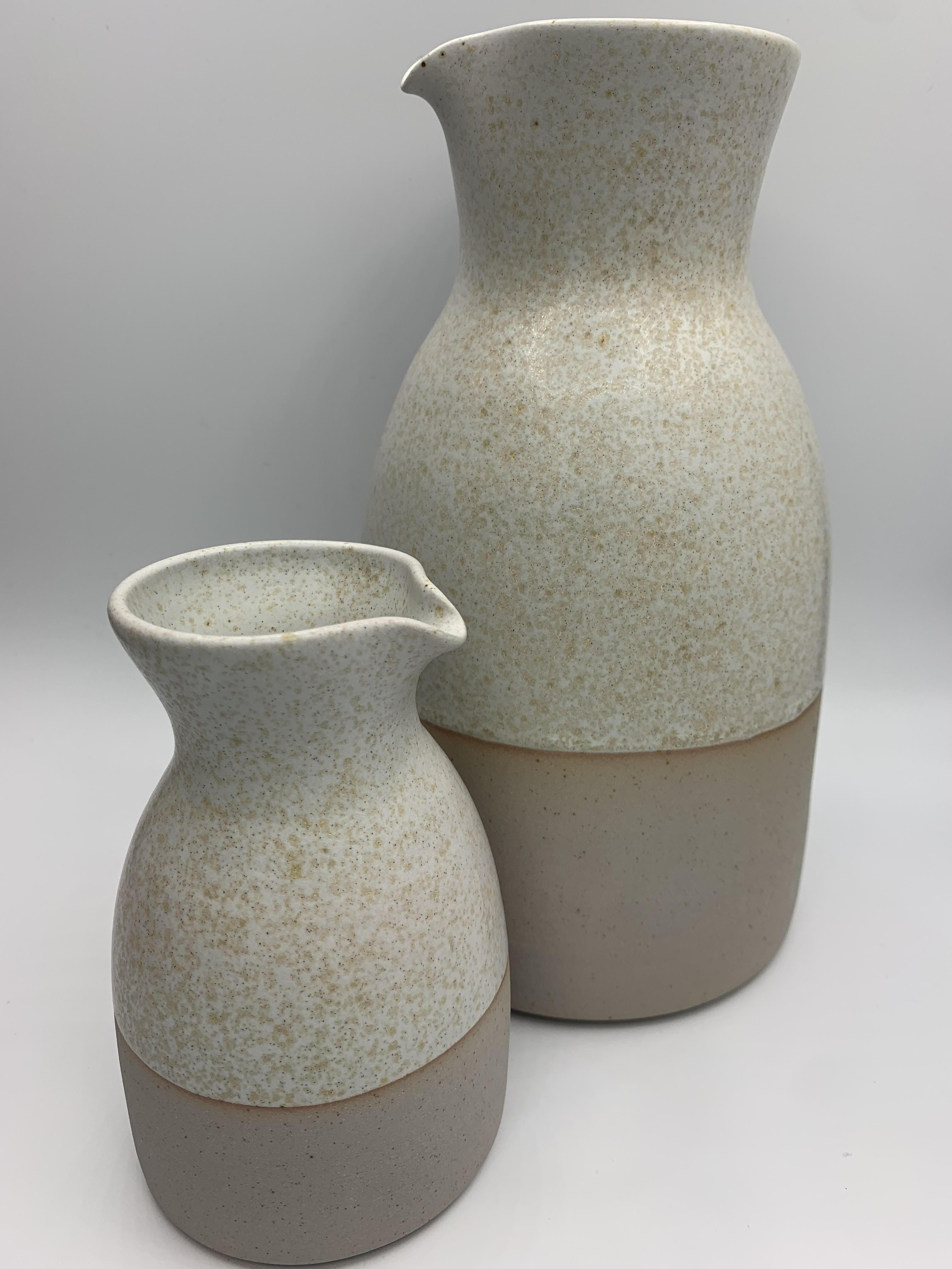 ceramic carafe/jug