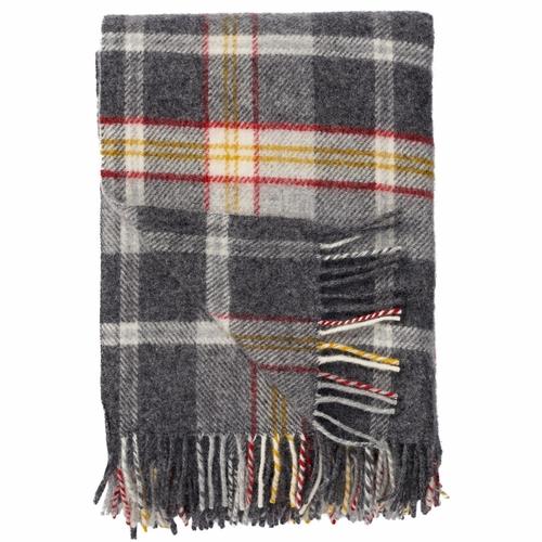 red checked wool Blanket, Klippan