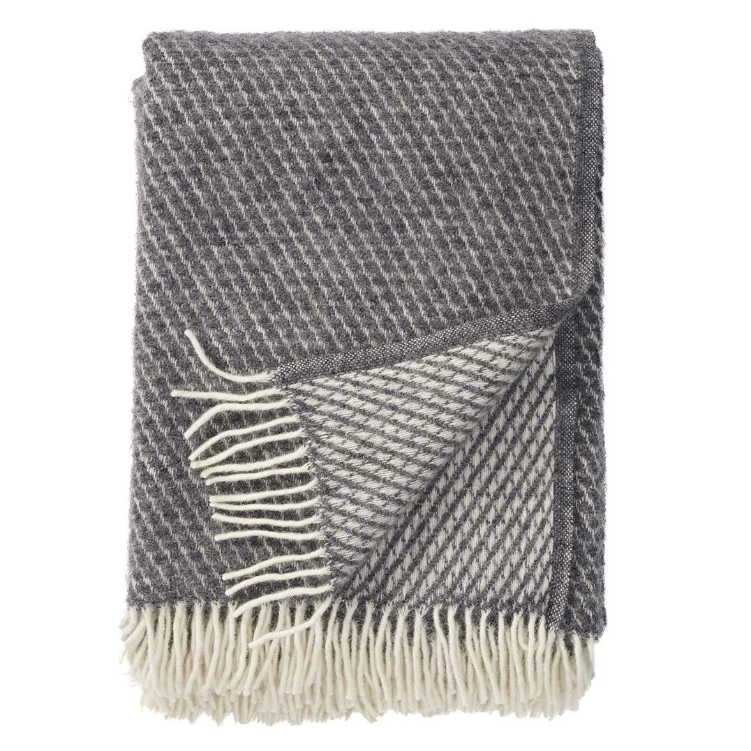 grey wool blanket