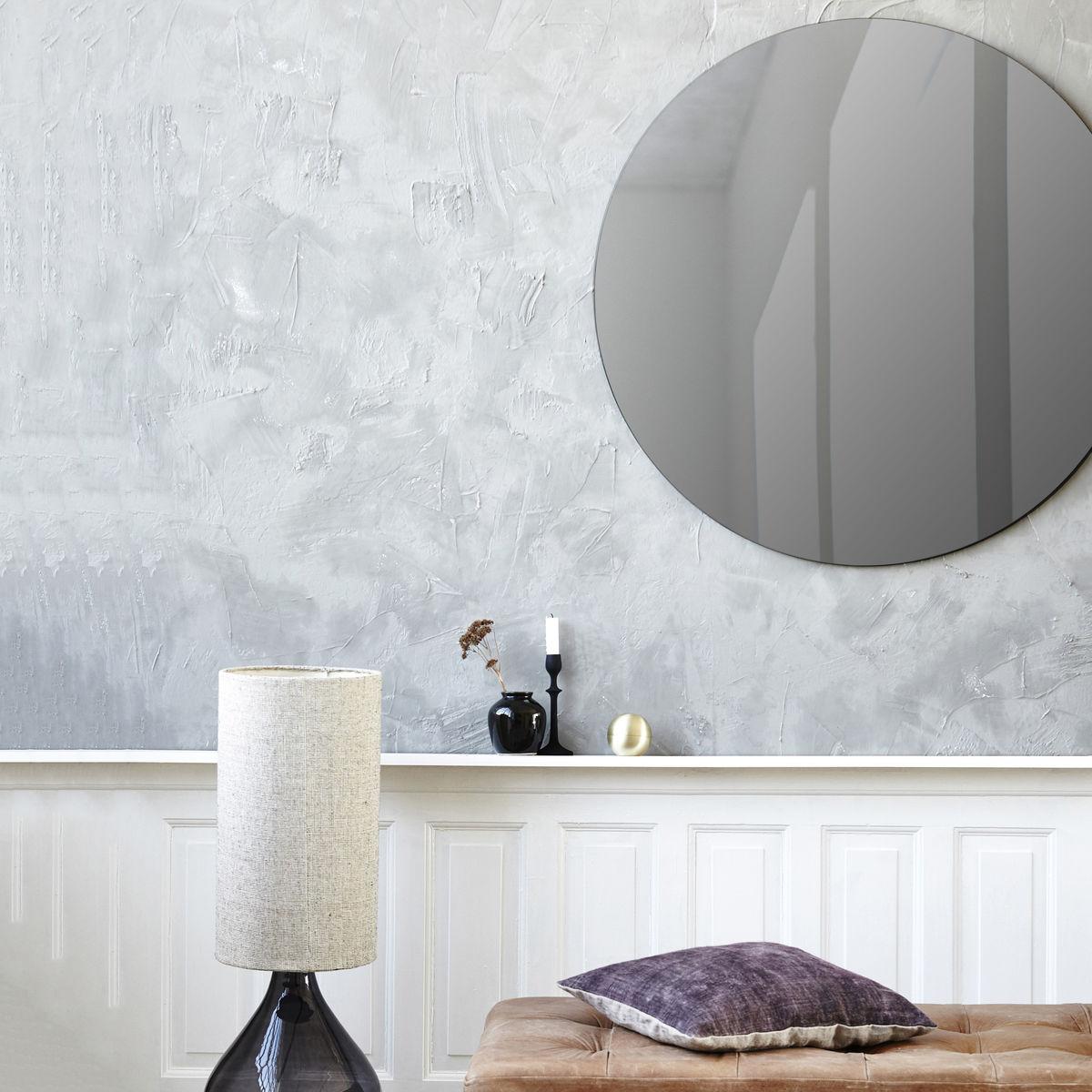 Grey Wall Mirror