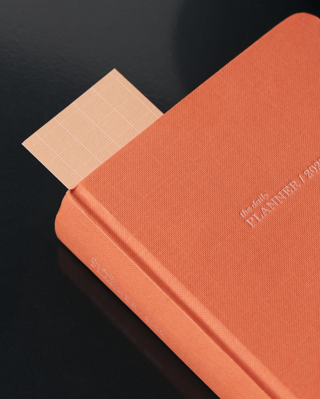 Orange yearly planner