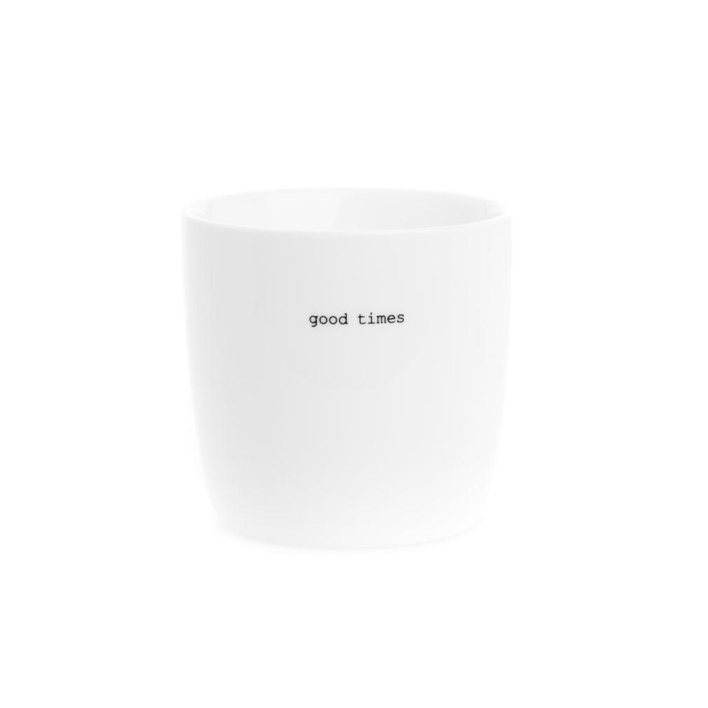 good times porcelain mug