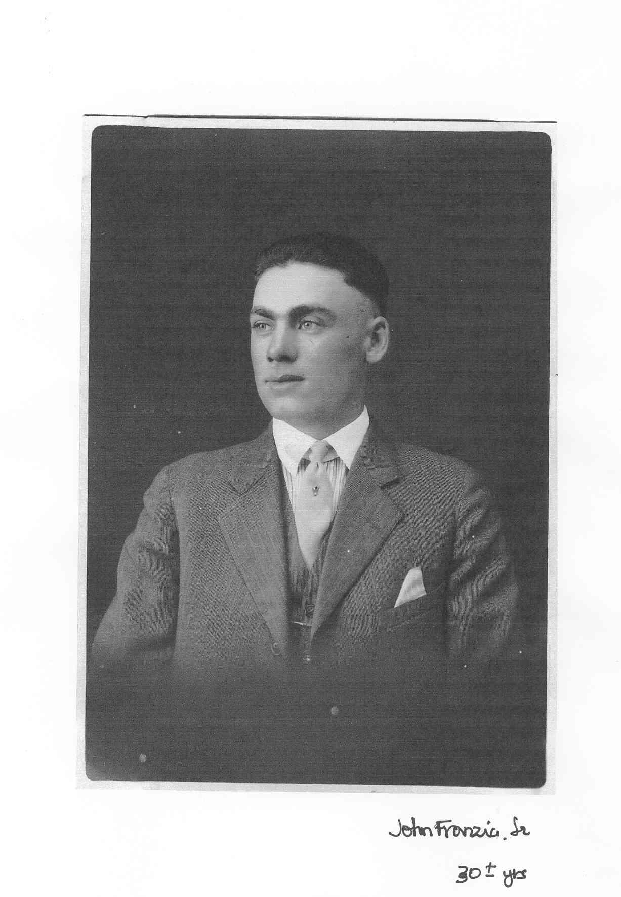 John Franzia Sr.