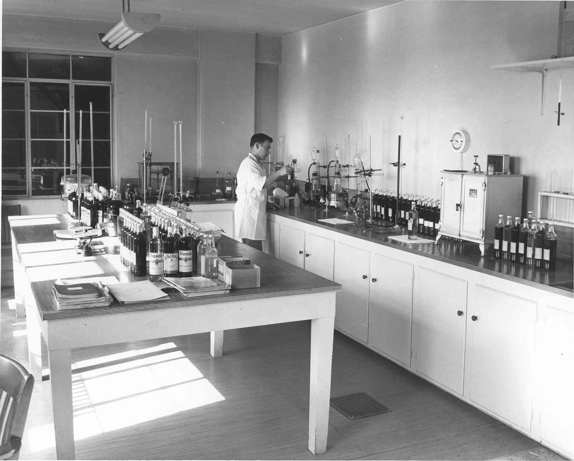 John in lab