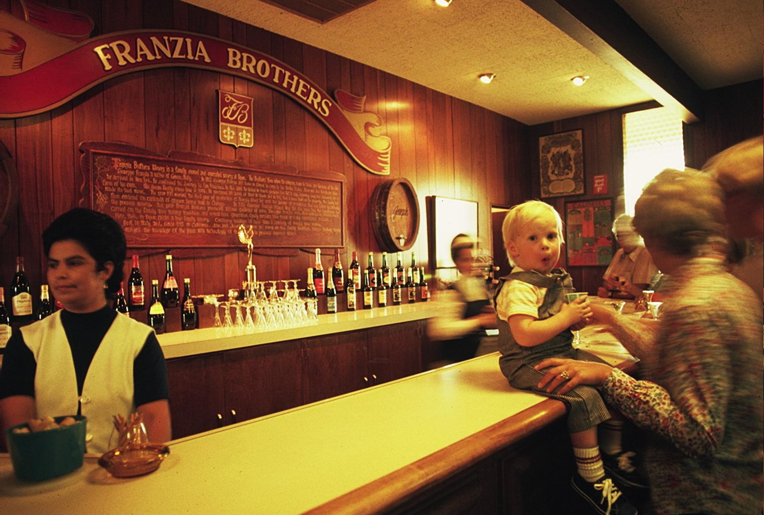 Franzia Brothers Tasting Room