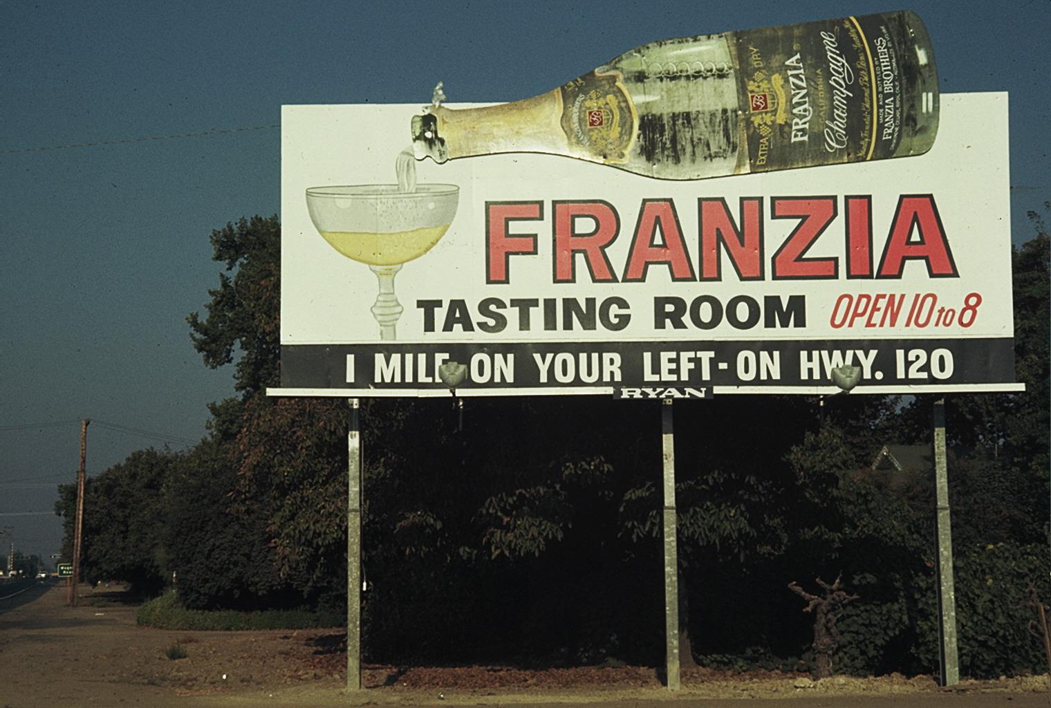 Franzia Brothers Billboard