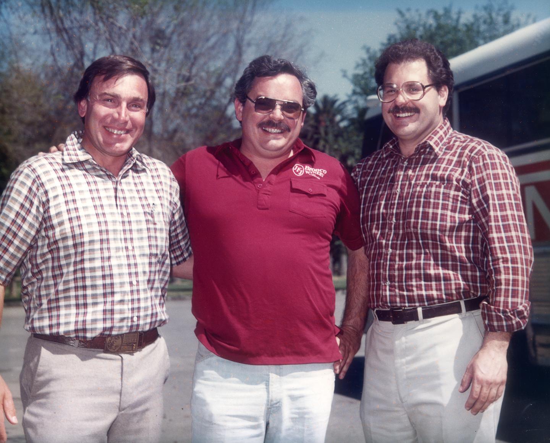 Joh Franzia Sr, Fred T Franzia, Joseph S Franzia, 1974