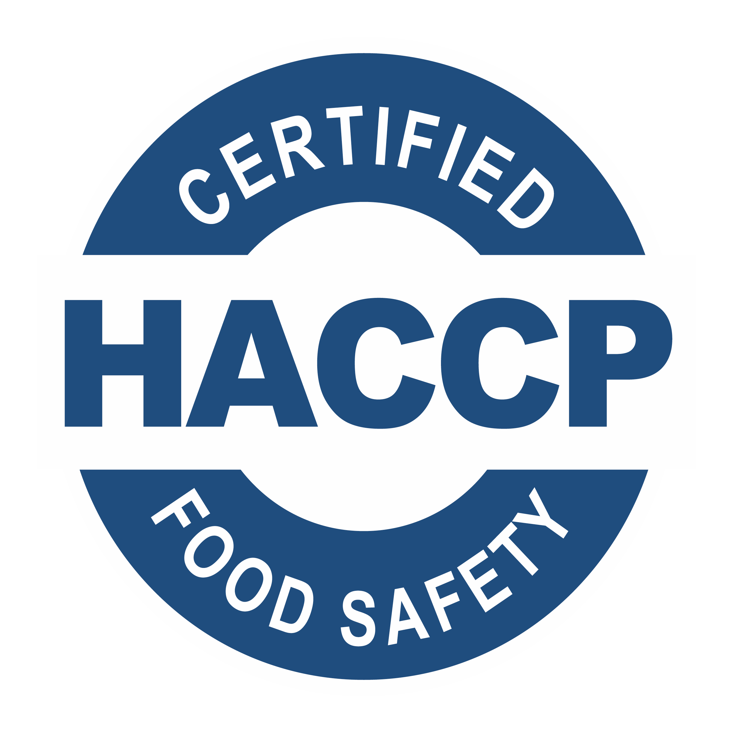 HACCP Certified Food Safety Badge