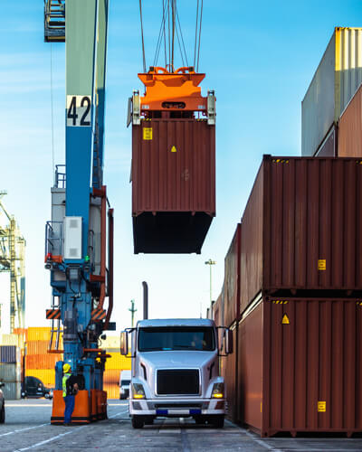 transportation company freight containers