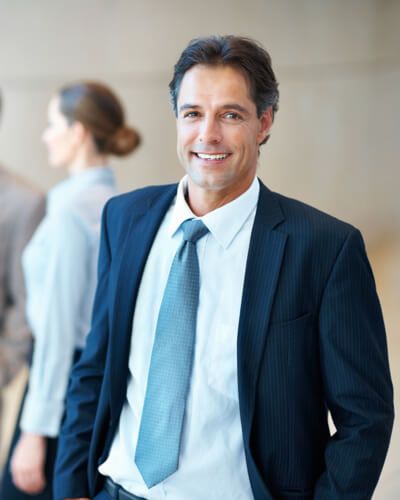 Business man factoring services