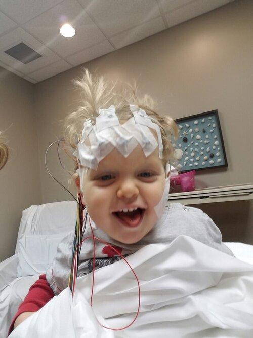 Ty getting an EEG