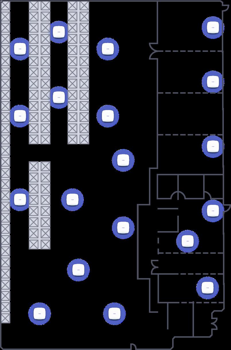 Meter installation floorplan
