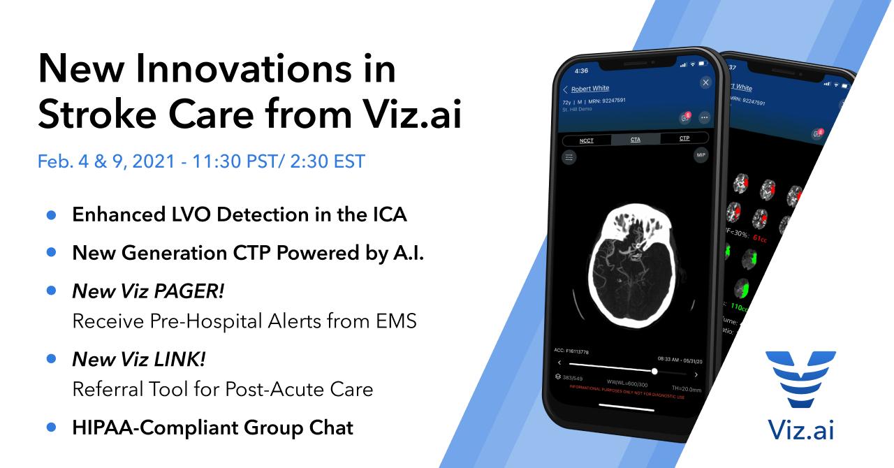 New Innovations in Stroke Care from Viz.ai