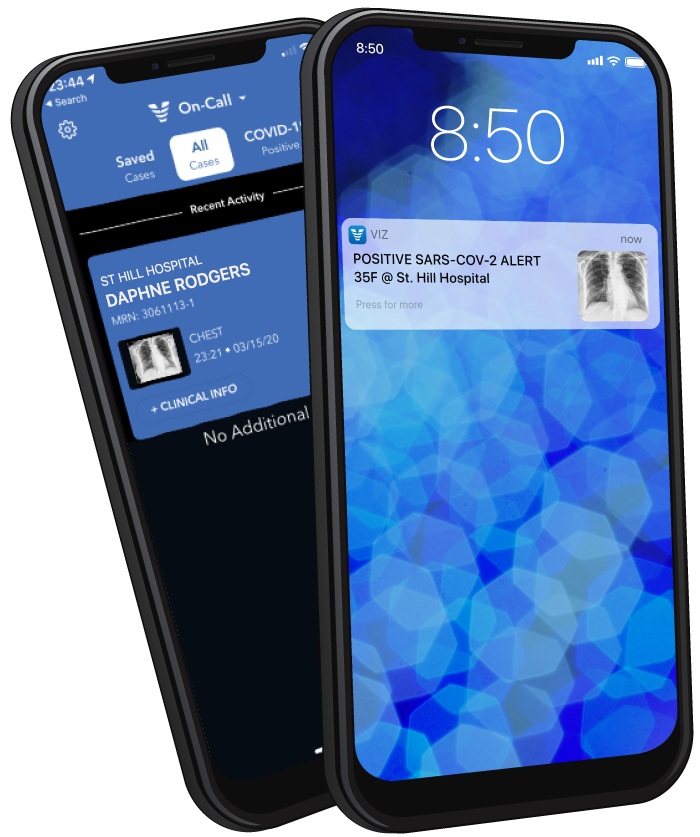 Viz.ai COVID-19 App