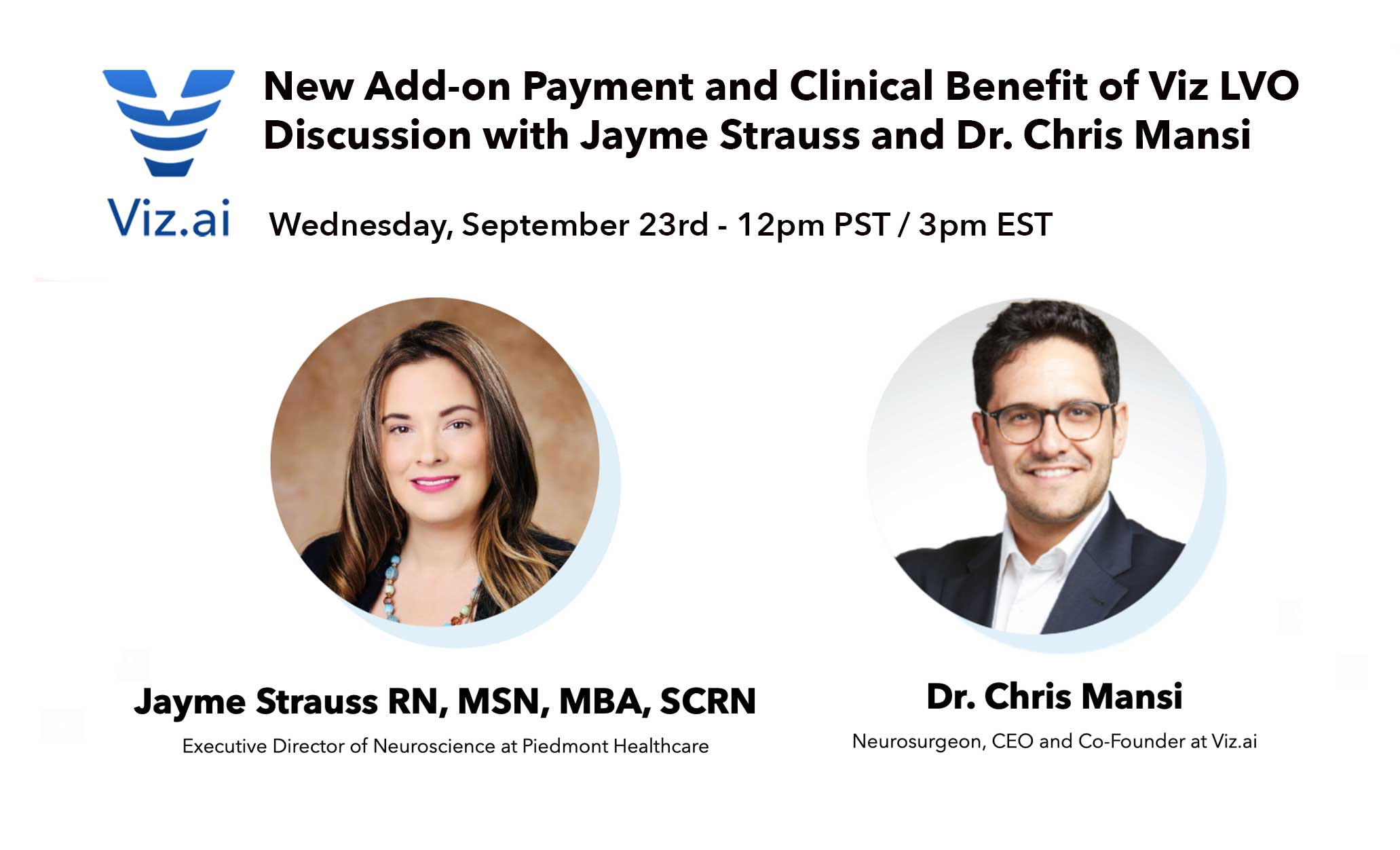 NTAP Webinar with Jayme Strauss and Chris Mansi