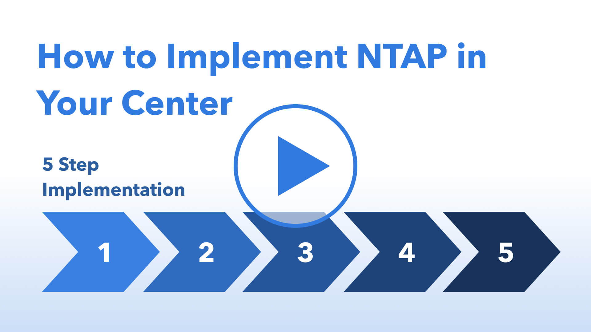 How to Implement NTAP in Your Center