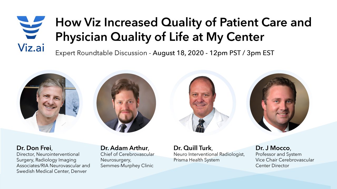 How Viz Increased Quality of Patient Care and Physician Quality of Life at My Center