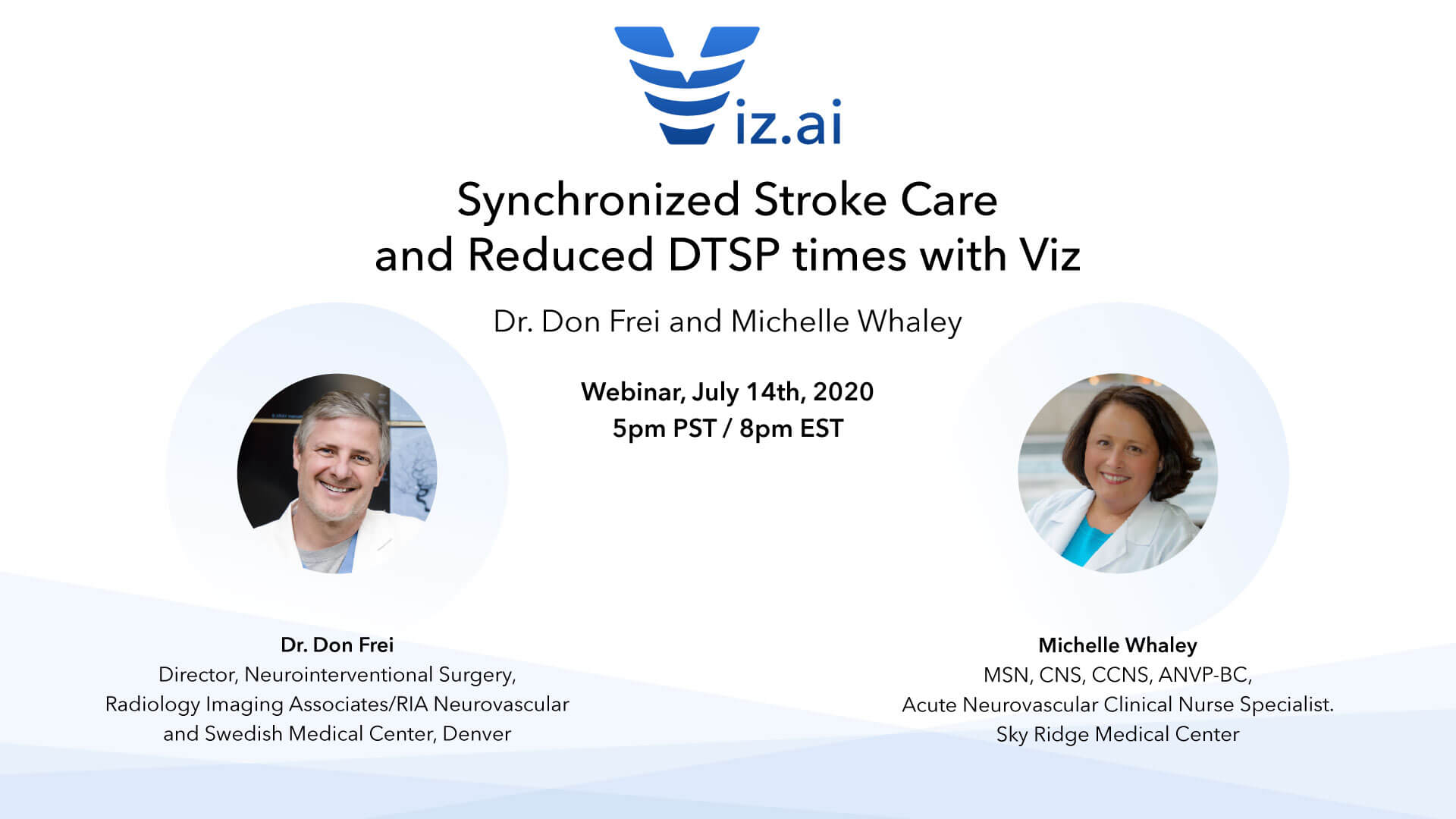 Synchronized Stroke Care and Reduced DTSP times with Viz.ai