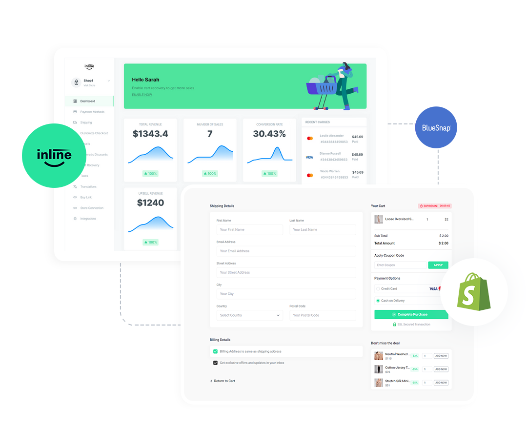 inline-checkout-bluesnap-connect-with-shopify