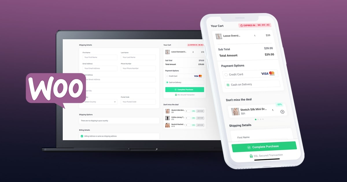 Custom WooCommerce Checkout Page - Boost Sales With Better Checkout Experience