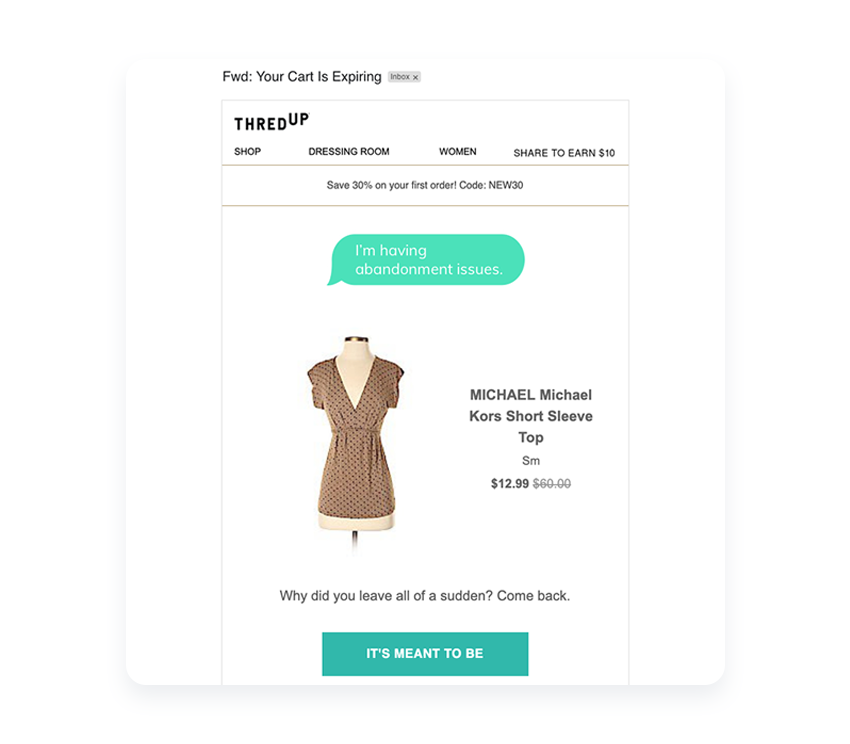 cart-abandonment-email-example-discount