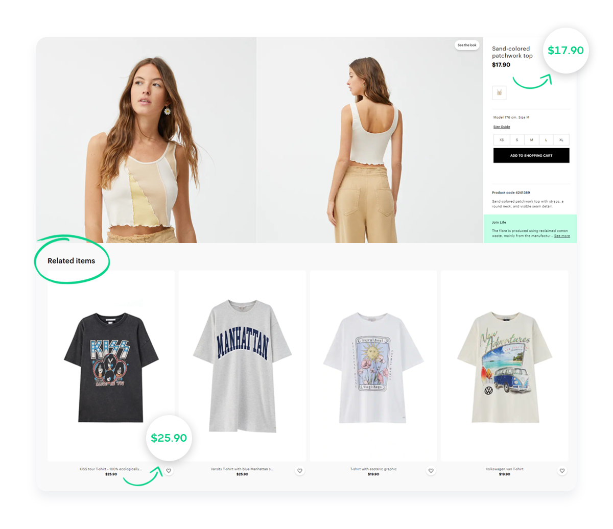 online-shopping-store-related-products-offer-upsell-example