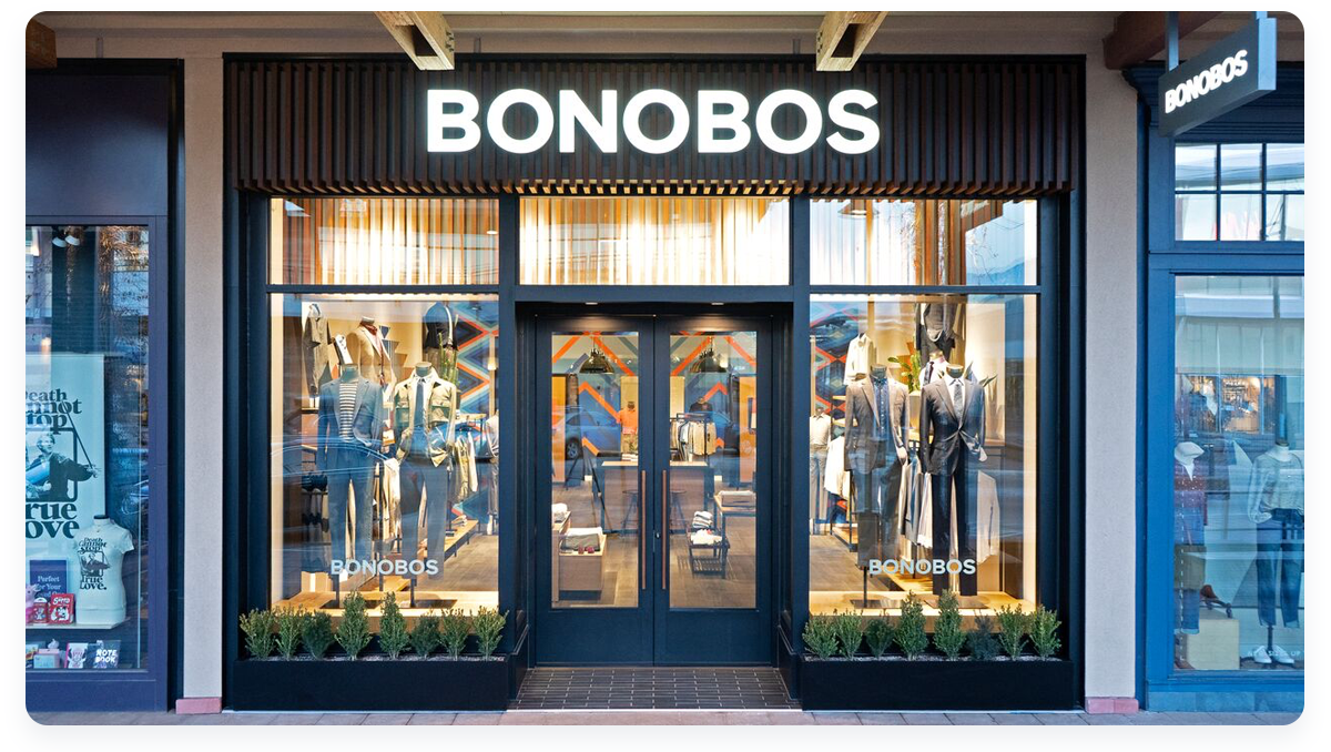 Most innovative ecommerce startups, Bonobos Guideshops