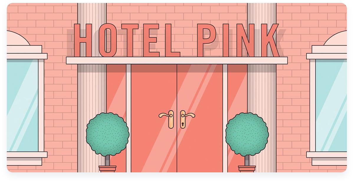 Top innovative ecommerce startups, Frank Body Hotel Pink Loyalty program
