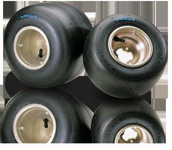 Vega Blue SL Tire Set 4.6 & 7.1