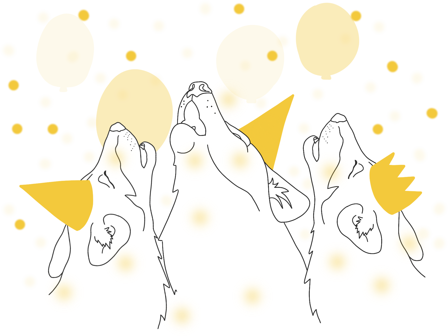 The YacPack celebrating and communicating synchronously