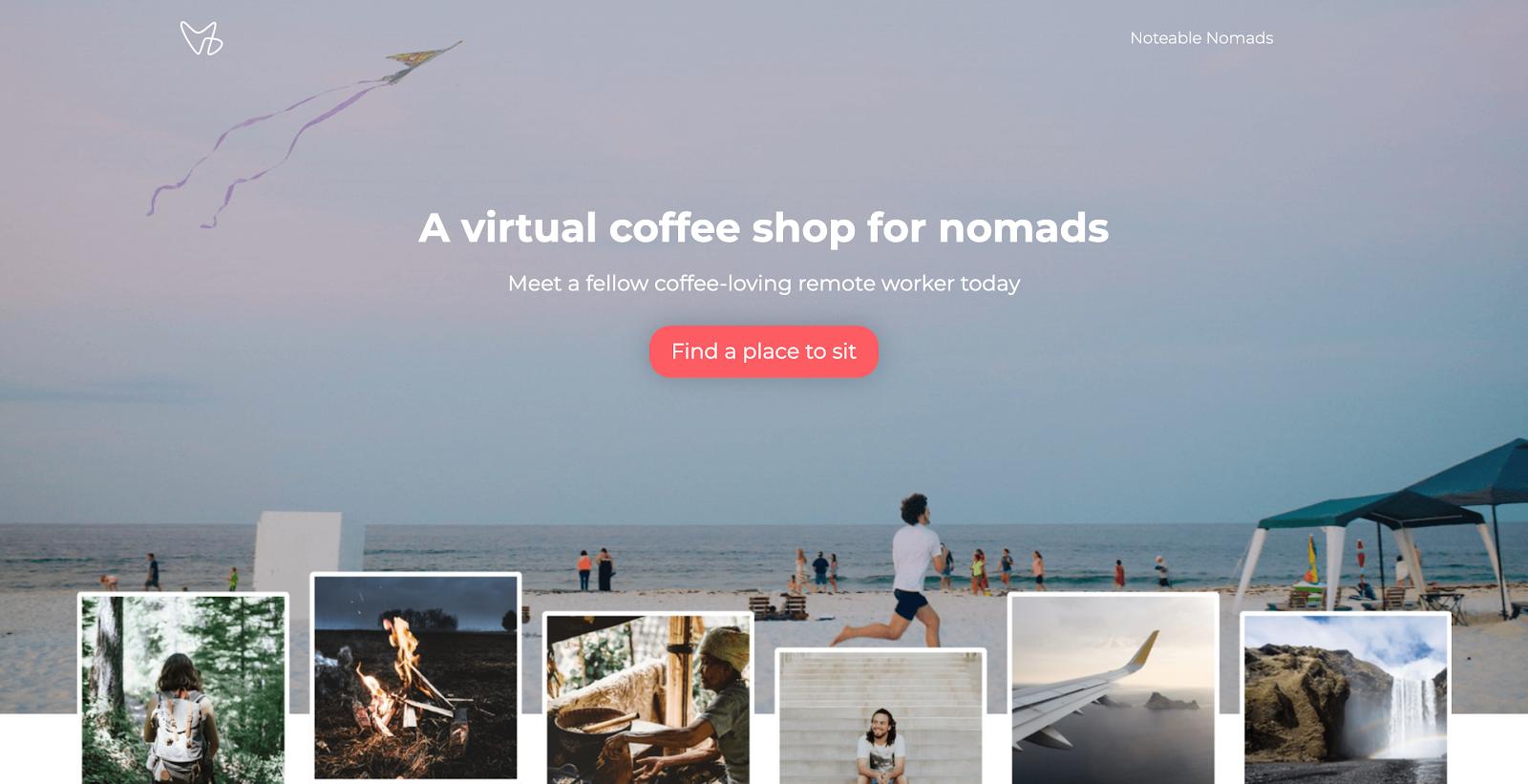 Noteable Nomads Website
