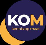Logo KOM, Kennis op maat,