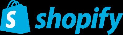 Logo for Shopify, The number one eCommerce platform.